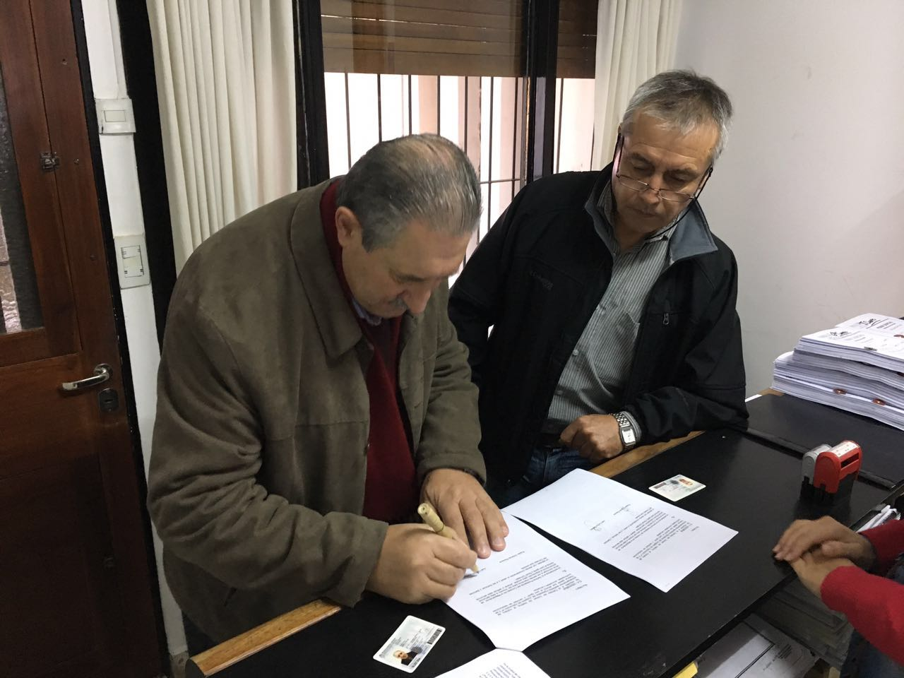 2016- Mayo- Scalesi denuncia Igoldi 2