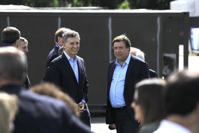 Macri y Weretilneck