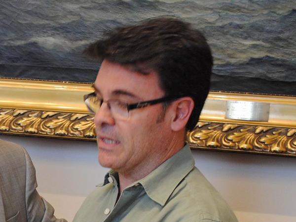 Gustavo Romero, concejal del Frente para la Victoria