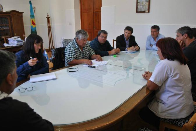 reunion gremial y municipio patagones