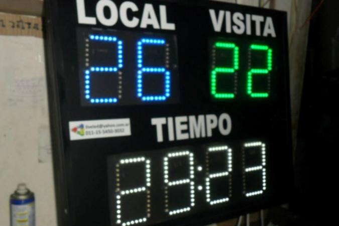 tablero handball